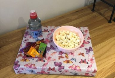 Make your own movie snack tray