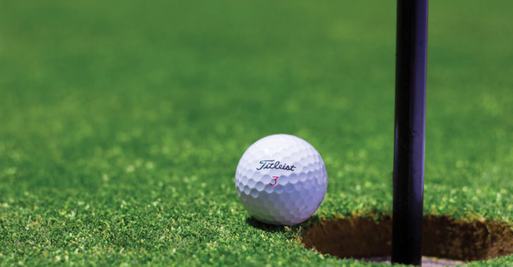 Enjoy superb golf courses while at Chantry
