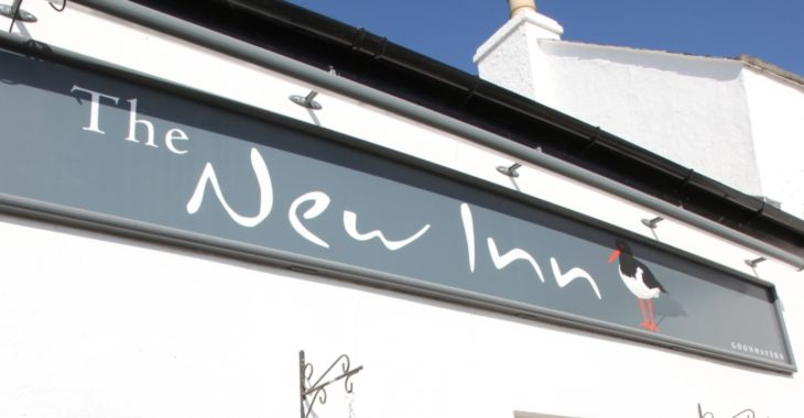 The New Inn; home to delicious, traditional cuisine