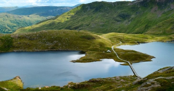 Explore the majestic mountain ranges and beautiful coastline of North Wales