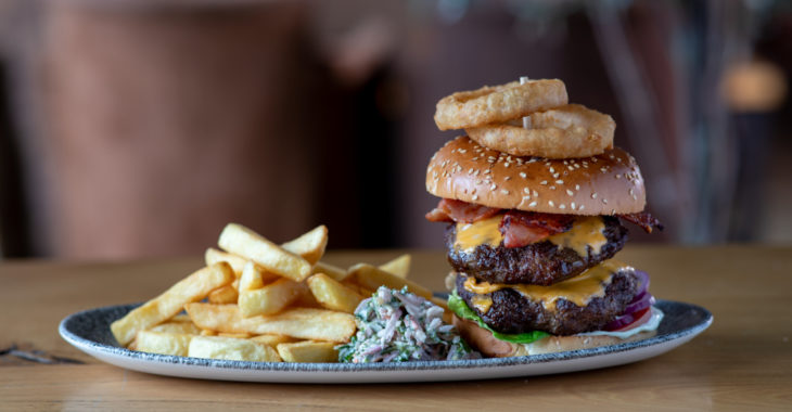 Enjoy a spot of lunch at The Old Barnhouse